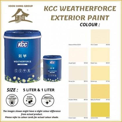 SS561 KCC WEATHERFORCE EXTERIOR PAINT 1L / 5L