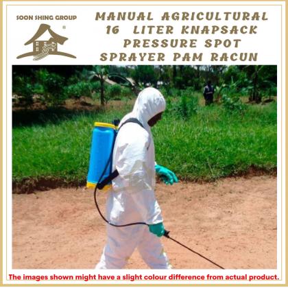 Manual Agricultural Knapsack Pressure Chemical Sprayer 16L Spot Sprayer Pam Racun