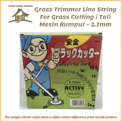 Grass Trimmer Line String For Grass Cutting / Tali Mesin Rumput - 2.7mm